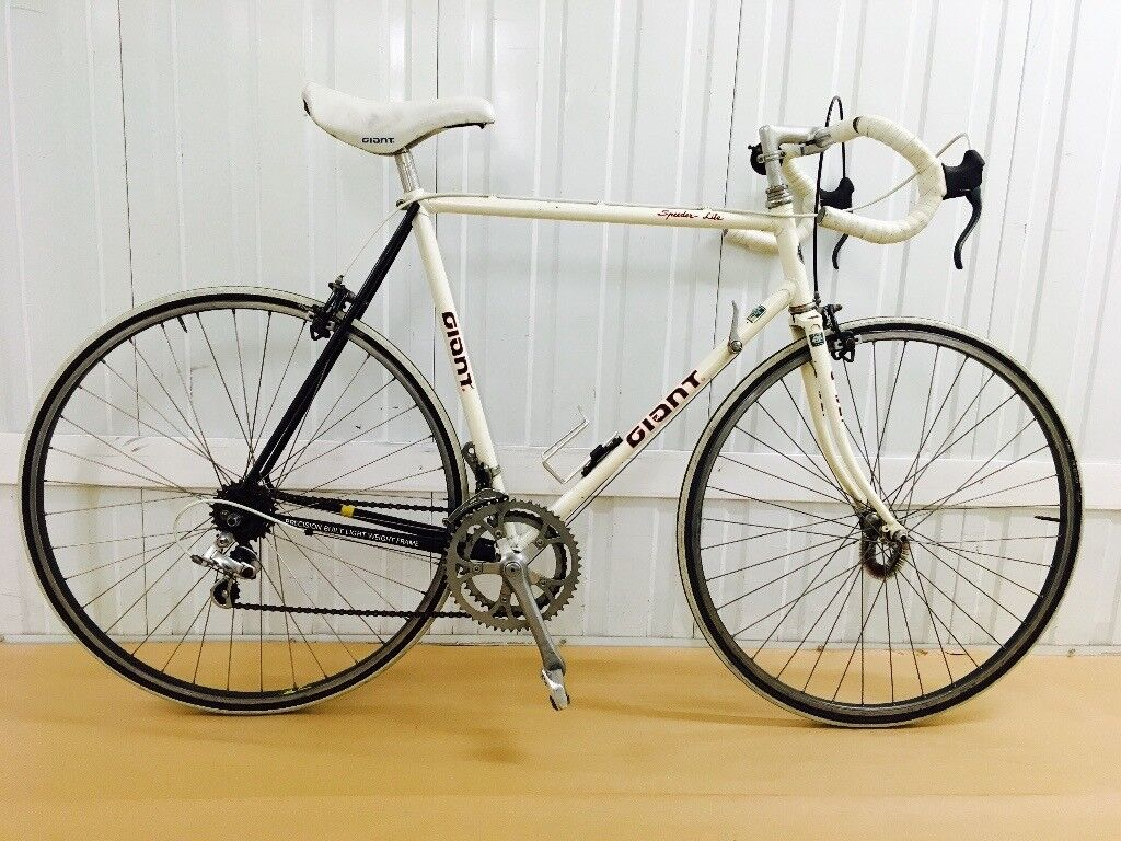 Giant Super lite 10 speed Classic Road Bike Steel frame Fully ...