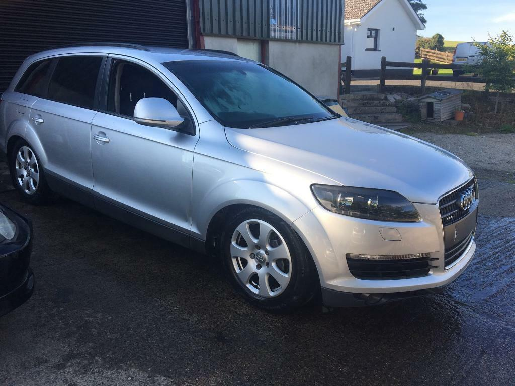 2008 AUDI Q7 FOR BREAKING ALL PARTS AVAILABLE ON THE SHELF