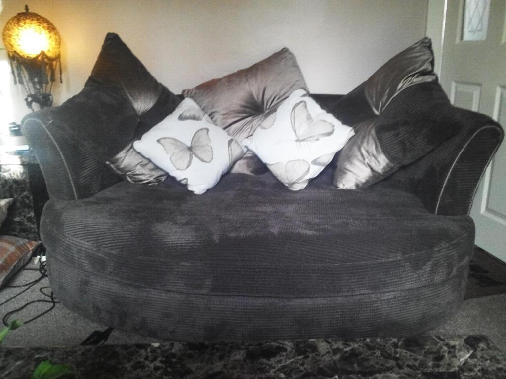 Dfs Capulet 3 Seater Pillow Back Lounger Sofa And Capulet