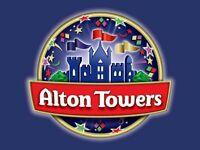Alton Towers x2 tickets 13 June 2017 SWAP