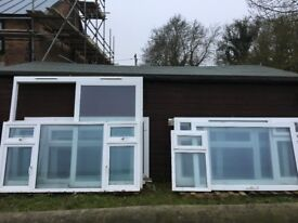 selection of 8 year old windows upvc