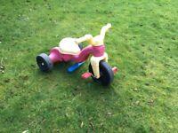Kids ride on trike