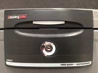 Sentry Safe H2100 (fire and water proof docs & valuables) // Excellent Quality + Affordable