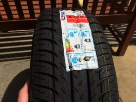 VW steel wheel with new 205/55R16 91H BF Goodridge Tyre tyre will fit any car on this size