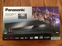 Panasonic 3D 4K Upscaling Blu-ray Player DMP-BDT380EB BRAND NEW