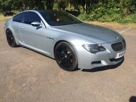 BMW M6 silverstone blue edition. Huge spec. Full service.
