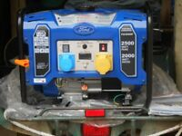 Unused Ford FG3050P Petrol 2kw generator. As new.