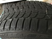 Set of 4 winter tyres and alloy rims for BMW 3 series