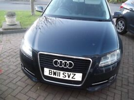 Audi A3 sport 158 tfsi. 2011. genuine 24k miles lady owner