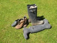 Old boots for garden planters!