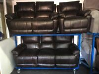 NEW / EX DISPLAY LazyBoy Easton 3 + 2 + 1 Seater Recliner Sofas