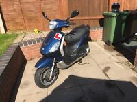 Piaggio fly 125 60 plate scooter