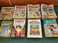 Beano and Dandy comics 1990's job lot (including specials)