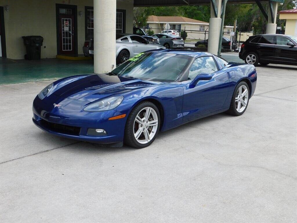 2005 Blue Chevrolet Corvette   | C6 Corvette Photo 1