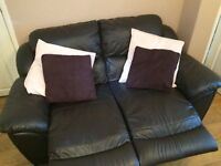 BROWN LEATHER RECLINER SOFAS FOR SALE - MUST GO ASAP - FREE DELIVERY SOME AREAS - £300