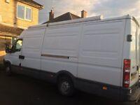 Iveco Daily 35S12 LWB (Long Wheel Base), extra high top diesel van