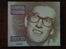 Buddy Holly CDs+