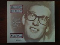 Buddy Holly CDs+