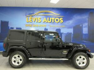 2015 Jeep WRANGLER UNLIMITED SAHARA GPS NAVIGATION 33900 KM !