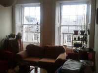 Available ALL OF AUGUST -- Large & bright double room in quiet and friendly flat share