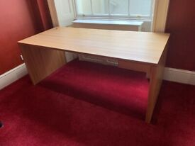 HULSTA Office Desk, Solid wood with small Drawer, German Made, great Condition
