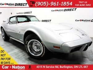 1977 Chevrolet Corvette | RED LEATHER| AS-TRADED|