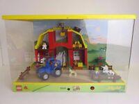 LARGE RARE lego DUPLO big farm 5649 set SHOP STORE DISPLAY with lights