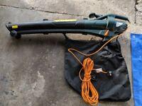 Power force garden vacuum blower