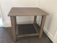 Small Ikea bed side table