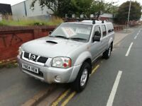 Nissan Outlaw,2500 cc Pickup,Crew Cab,Roof lights,Tow bar fitted,CD/Radio,runs and drives very well