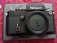 NIKON F2 VINTAGE FILM ANALOGUE PROFFESIONAL CAMERA! FULLY WORKING! OPEN TO SERIOUS OFFERS!!
