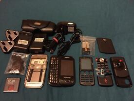 Samsung GT-B3410 mobile phone & housing etc