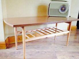 1970's Restored Retro/Vintage Coffee Table
