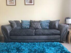 4-seater DFS sofa