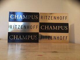 6 Ritzenhoff Champagne Glasses