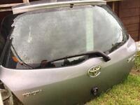 Toyota Yaris Diesel Petrol Tailgate 2006-2010 Newshape, Rear Bumper, Breaking