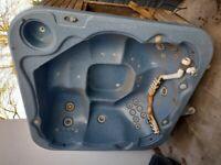 Sapphire spa hot tub