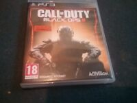 Call Of Duty Black Ops III (3) Play Station 3 Edition.