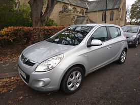 Hyundai i20 Comfort 1.2 petrol 5 door -- Low Mileage -- Immaculate condition