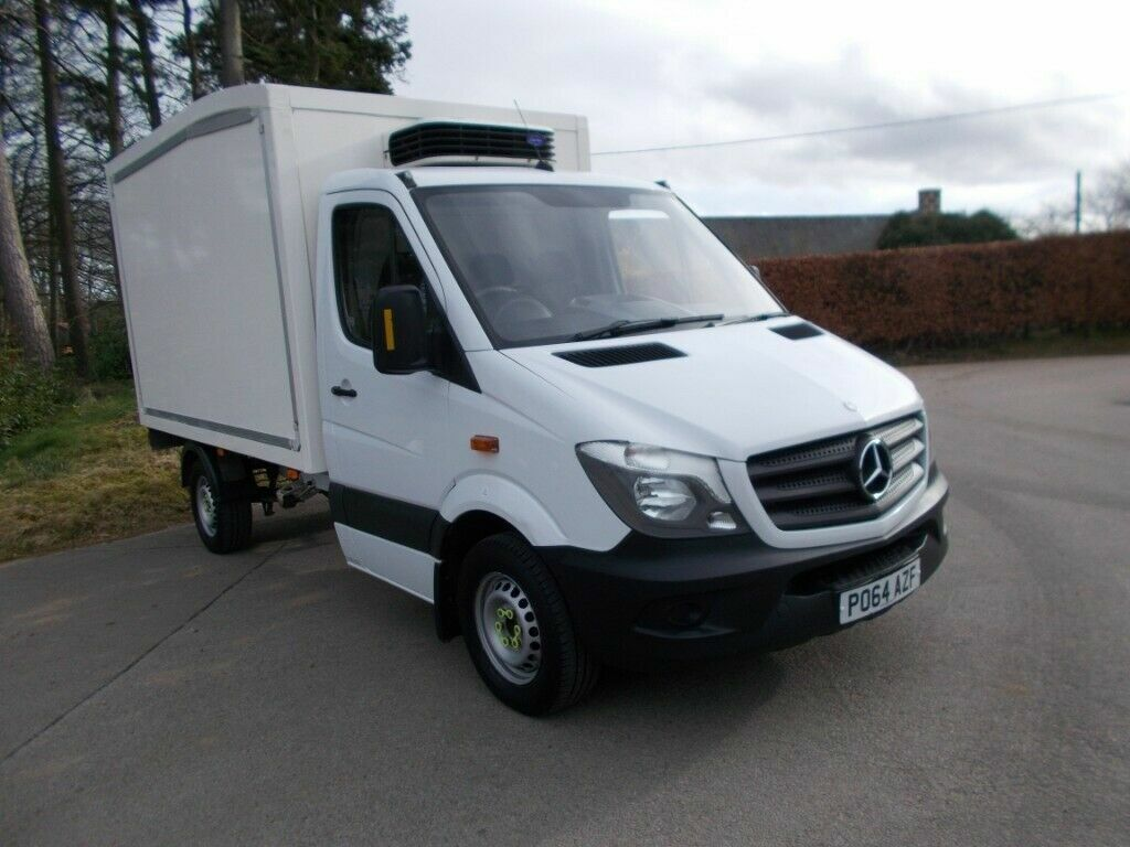 fe4375482f 2014 64 MERCEDES SPRINTER 313 2.2 CDI AUTOMATIC INSULATED REFRIGERATED VAN  CALL 07791629657