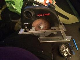 For sale one skilsaw