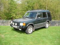 Landrover Discovery Auto Diesel 7 seater Towbar Estate