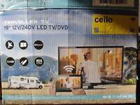 vw t4 t5 camper 12v tv