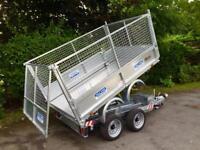 Dale Kane 3 ton electric tipper trailer