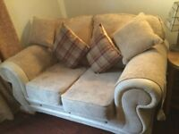 EXCELLENT CONDITION TWO MATCHING SOFAS -WITH CUSHIONS-PET AND SMOKE FREE HOME.