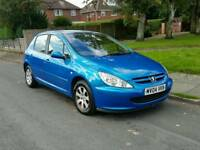 Peugeot 307 2.0 hdi diesel. Mot end of june