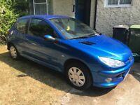 Blue Peugeot 206 1.4L For Sale