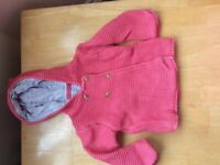 9-12m knitted cardigan