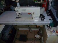 WHITE BROTHER Industrial lockstitch sewing machine Model MARK III