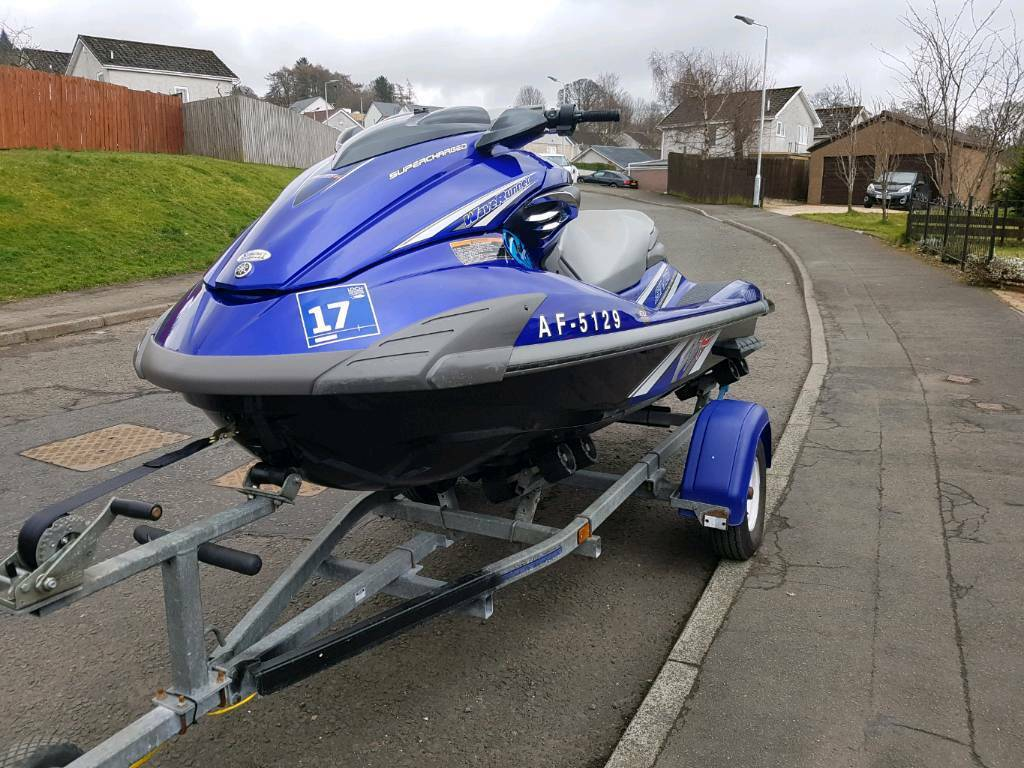 Yamaha waverunner fzr sho supercharged jet ski 70mph swap px boat ...